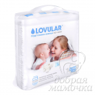 Подгузники LOVULAR Hot Wind 0-6 кг 80 шт. (S)