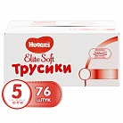 Трусики Huggies Elite Soft (12-17кг) 76 шт