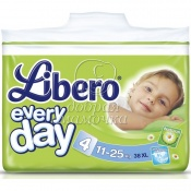 Подгузники Libero Everyday XL №5 (11-25 кг) 38шт.