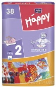 Подгузники Bella Baby Happy Mini №2 (3-6кг) 38шт.