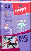 Подгузники Bella Baby Happy Junior №5 (12-25кг) 58шт.