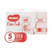 Подгузники Huggies Elite Soft Box 5 (12-22 кг) 112 шт