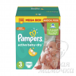 Подгузники Pampers Active Baby Мега №3 ( 4-9 кг) 150 шт.