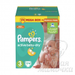 Подгузники Pampers Active Baby Мега+ №3 (5-9кг) 174шт.