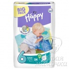 Подгузники Bella Baby Happy Junior Extra №6 (16+ кг) 54шт.
