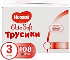 Трусики Huggies Elite Soft (6-11кг) 108 шт