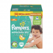 Подгузники Pampers Active Baby Мега №4+ (9-16кг) 120шт.