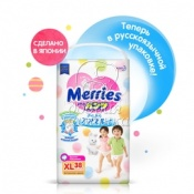 Трусики Merries Big (12-22кг) 38шт.